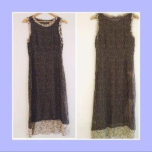 Johnny Was 🌺 Sheer Silk Dress